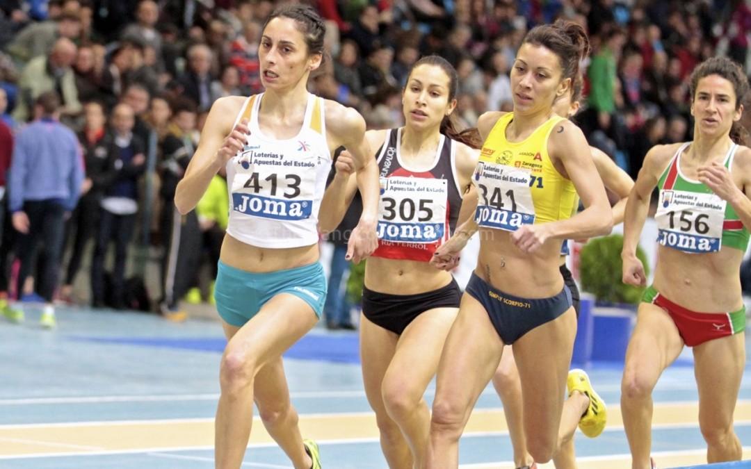 Leticia Fernández Barbosa finaliza 5ª en el Cto España Absoluto de 1.500ml