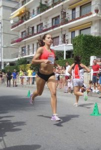 Leticia Milla Sanxenxo 2015 en el aire